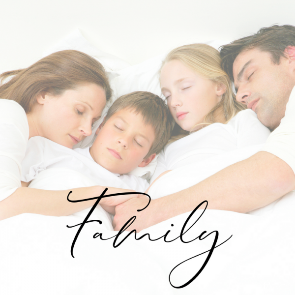 family | family sleep packages | Lisa Gargaro Sleep Co