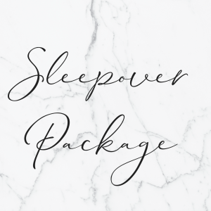 sleepove package | Lisa Gargaro Sleep Co