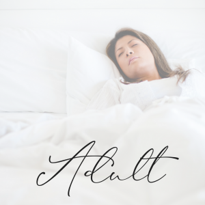 adult sleeping | adult sleep packages in Cyprus | Lisa Gargaro Sleep Co