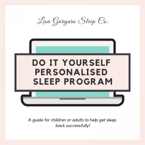 DIY Do it yourself sleep programs personalised sleep program.
