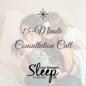 Lisa Gargaro Sleep Co 15 minute sleep consultation call UK sleep consultant