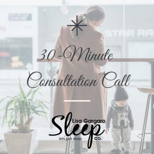 sleep consultation call 30 min Lisa Gargaro Sleep Co UK sleep consultant