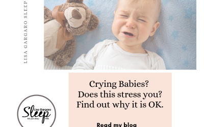 Why should we be calmer about babies crying?