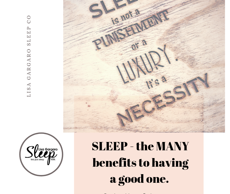 sleep the many benefits to have a good one