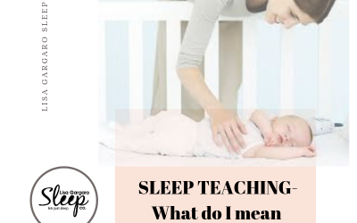 "Sleep teaching requires ""short-term pain for a long-term gain"" ethos."