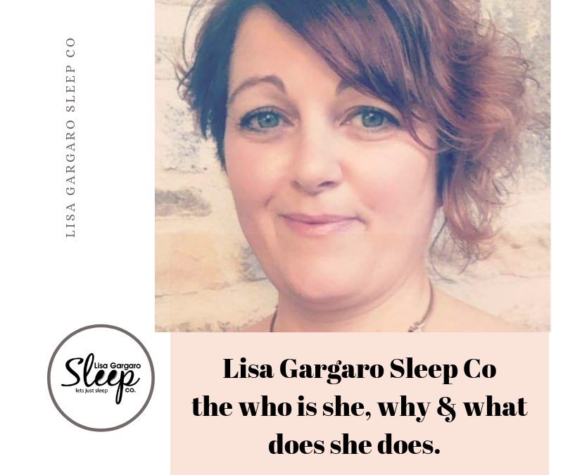 Who, what and why is Lisa Gargaro Sleep Co different from other sleep trainers and consultants.