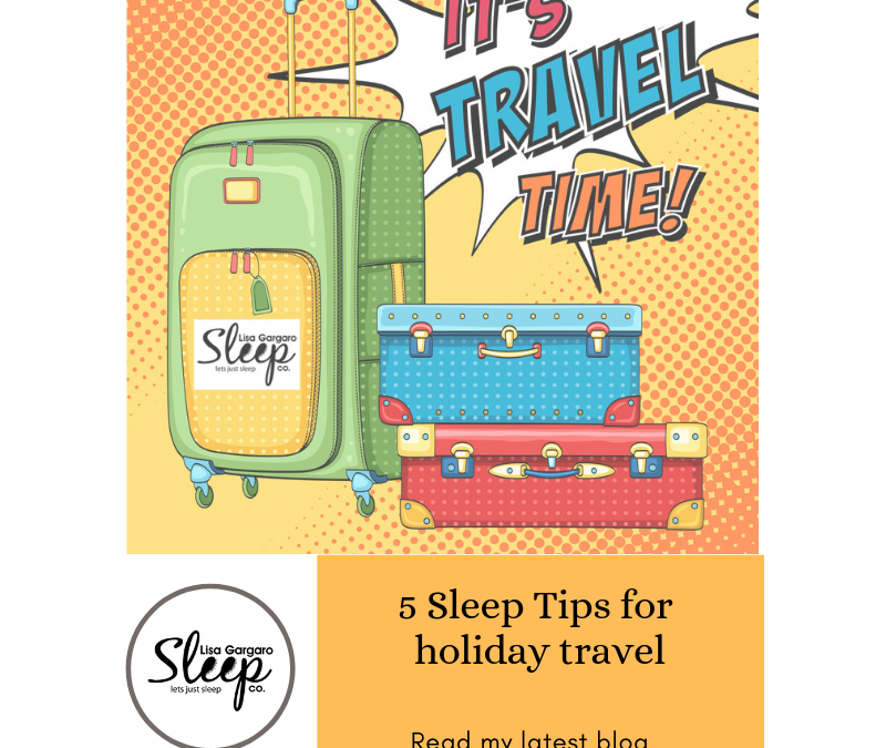 5 Sleep Tips for Holiday Travel