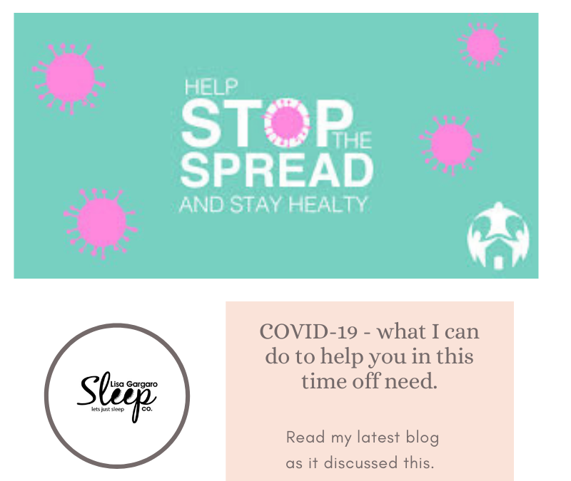 Lisa Gargaro Sleep Co Blog – COVID-19 How can I help at these times of need?