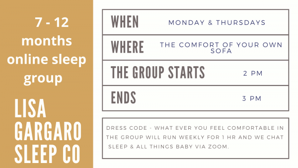 Lisa Gargaro Sleep Co scotland edinburgh london sleep consultant sleep group support program