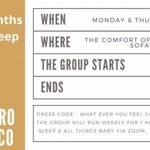 Lisa Gargaro Sleep Co scotland sleep consultant sleep group support program