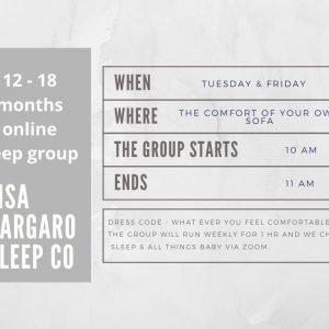 Lisa Gargaro Sleep Co scotland edinburgh sleep consultant sleep group support program
