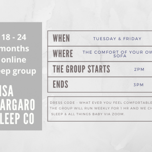 Lisa Gargaro Sleep Co scotland edinburgh sleep consultant sleep group support program