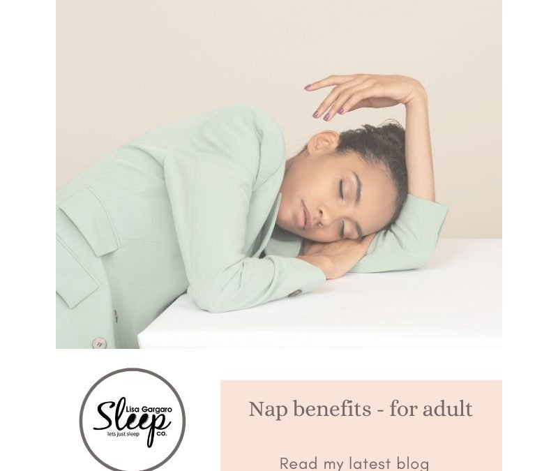 Lisa Gargaro Sleep Co – Blog – Nap benefits for adults