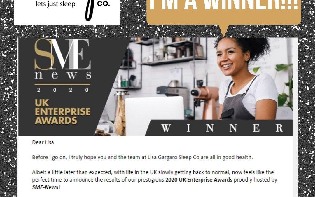Lisa Gargaro Sleep Co – Blog – Best Holistic Sleep Consultant Winner 2020 of UK Enterprise Awards
