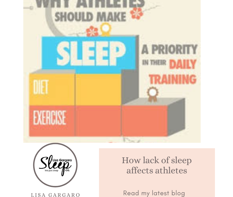 Lisa Gargaro Sleep Co – Blog – How lack of sleep affects athletes