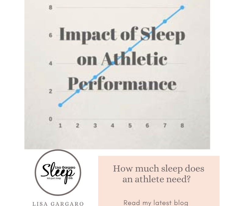 Lisa Gargaro Sleep Co – Blog – How much sleep does an athlete need?