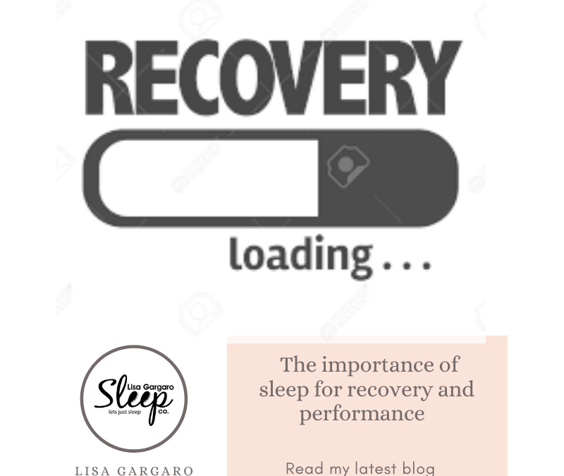 Lisa Gargaro Sleep Co – Blog – Sleep – the importance of it for recovery and performance
