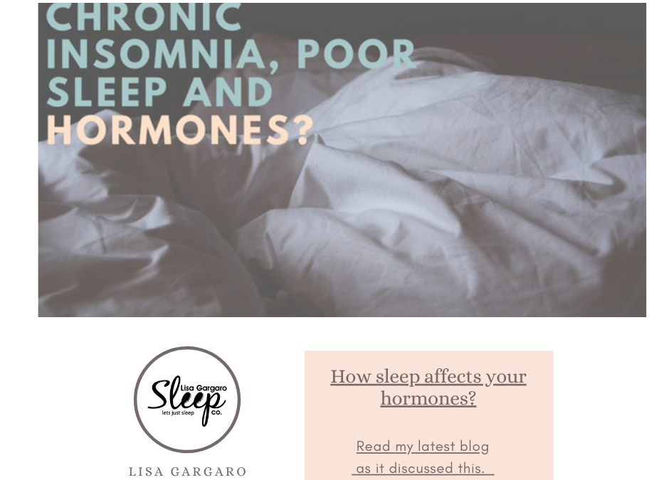 Lisa Gargaro Sleep Co – Blog – How sleep affects your hormones?