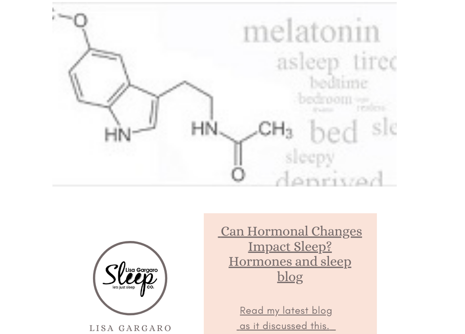 Lisa Gargaro Sleep Co – Blog – Can Hormonal Changes Impact Sleep?