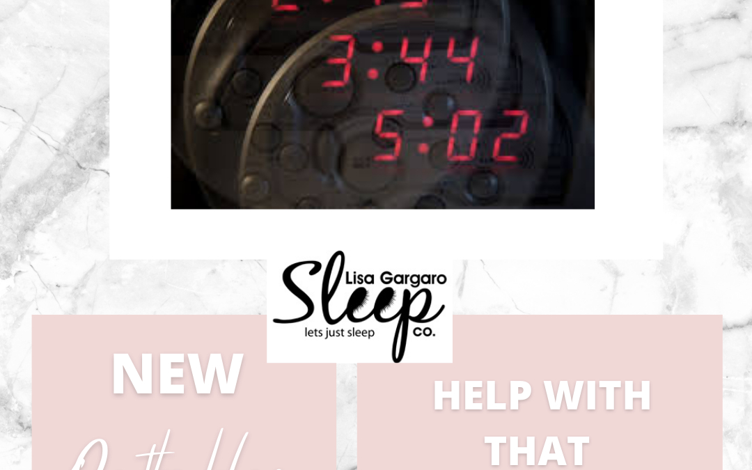 Top tips on how to deal with 3 a.m. Insomnia – Blog – Lisa Gargaro Sleep Co