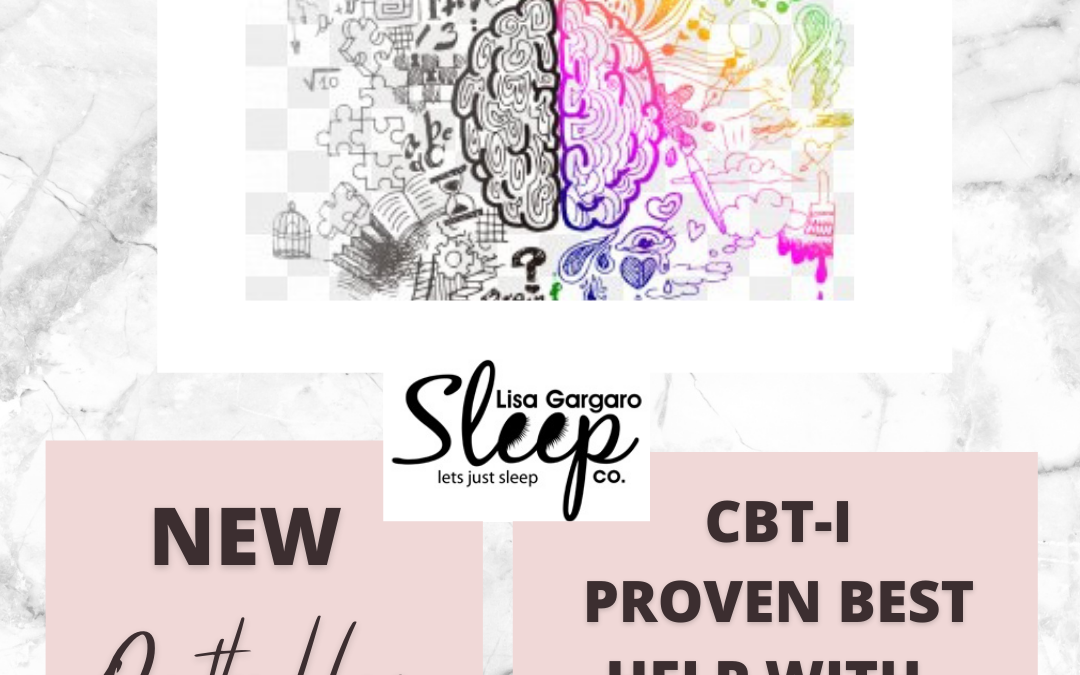 CBT-I Insomnia treatments, the evidence – Blog – Lisa Gargaro Sleep Co